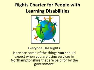 Rights Charter for People with Learning Disabilities