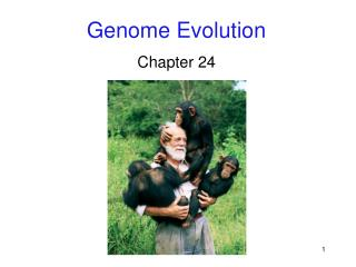 Genome Evolution Chapter 24