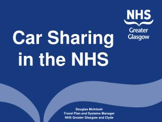 Car Sharing  in the NHS