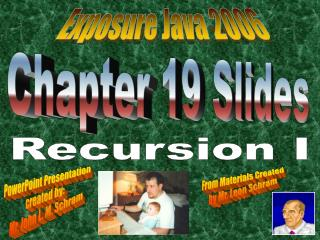 Chapter 19 Slides
