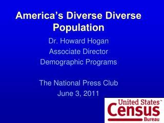 America's Diverse Diverse Population