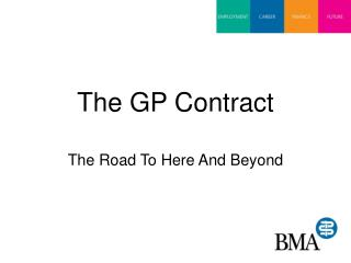 The GP Contract