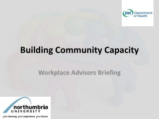 Building Community Capacity