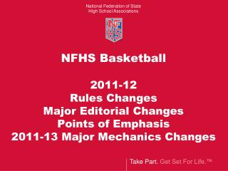 Correction: 2011-13  Basketball Officials Manual