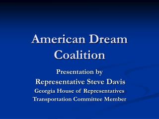 American Dream Coalition