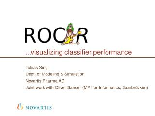 ...visualizing classifier performance