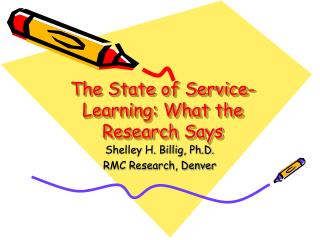 The State of Service-Learning: What the Research Says