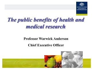 The public benefits of health and medical research