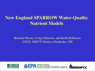 New England SPARROW Water-Quality Nutrient Models