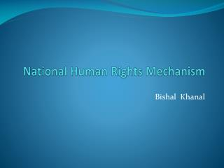 National Human Rights Mechanism