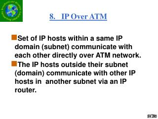 8.   IP Over ATM