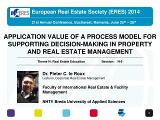 European Real Estate Society  (ERES) 2014