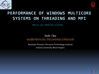 MPI on Multicore Architectures using MPICH2