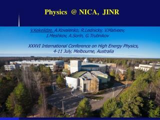 Physics  @ NICA,  JINR
