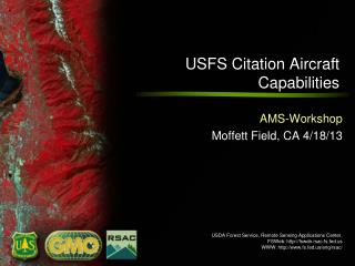 USFS Citation Aircraft Capabilities