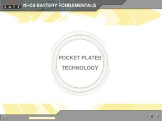 POCKET PLATES TECHNOLOGY