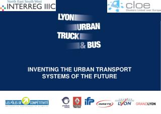 INVENTING THE URBAN TRANSPORT SYSTEMS OF THE FUTURE