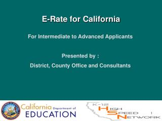 E-Rate for California