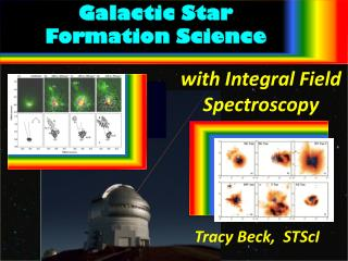 Galactic Star  Formation Science