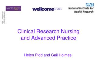 Clinical Research Nursing and Advanced Practice