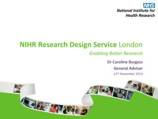 NIHR Research Design Service  London