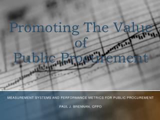 Promoting The Value of  Public Procurement
