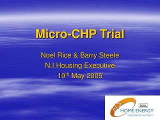 Micro-CHP Trial