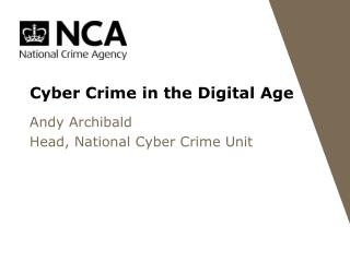 Cyber Crime in the Digital Age