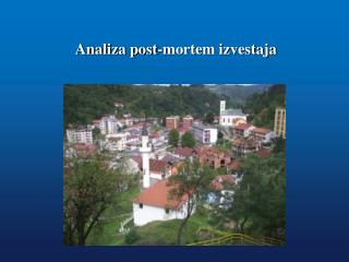 Analiza post-mortem izvestaja