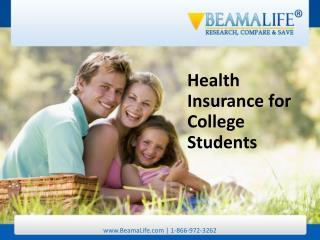Health Insurance for College Students