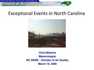 Exceptional Events in North Carolina