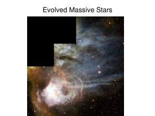 Evolved Massive Stars