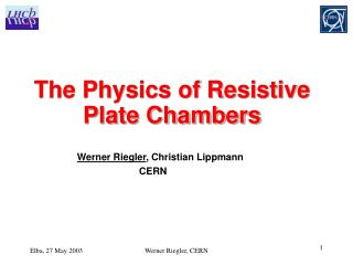 The Physics of Resistive Plate Chambers