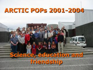 ARCTIC  POPs  2001-2004