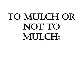 To Mulch Or Not To Mulch: