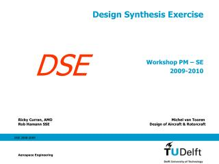 Design Synthesis Exercise