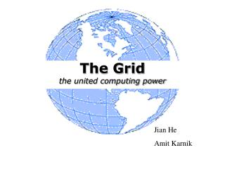 The Grid the united computing power
