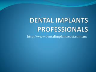 Lowest Dental Implants Cost