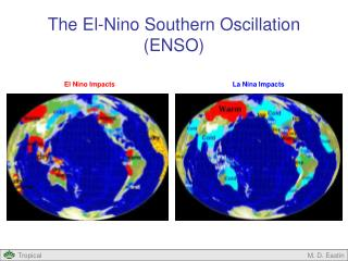 The El-Nino Southern Oscillation (ENSO)