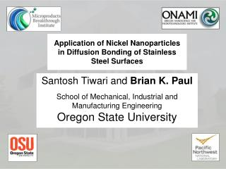Application of Nickel Nanoparticles in Diffusion Bonding of Stainless Steel Surfaces