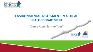 Environmental assessment in a local health department