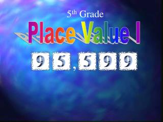 Place Value I