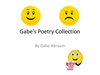 Gabe's Poetry Collection