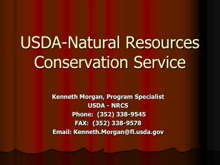 USDA-Natural Resources Conservation Service