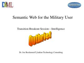Semantic Web for the Military User