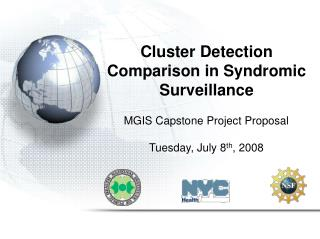 Cluster Detection Comparison in Syndromic Surveillance