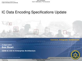 IC Data Encoding Specifications Update