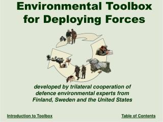 Environmental Toolbox for Deploying Forces Title Page