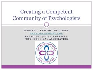 Creating a Competent Community of Psychologists