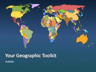 Your Geographic Toolkit